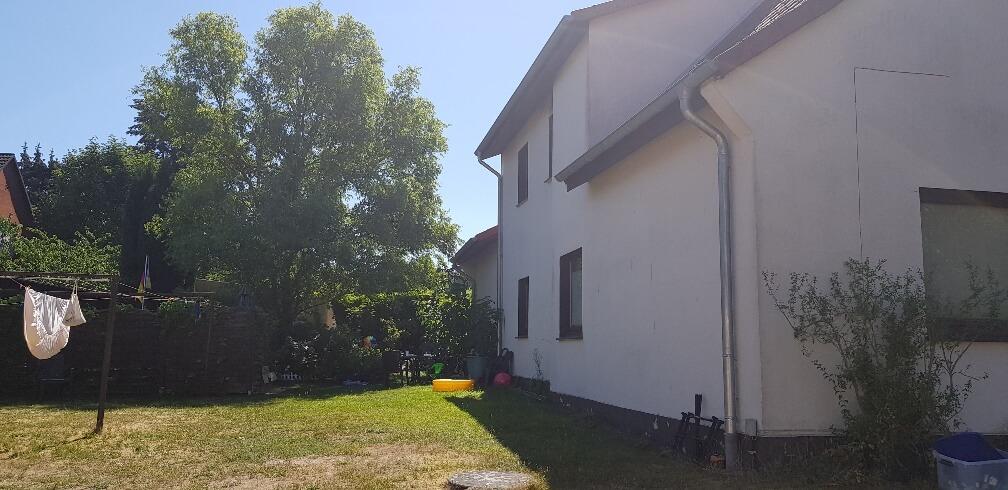 Mehrfamilienhaus Rückansicht